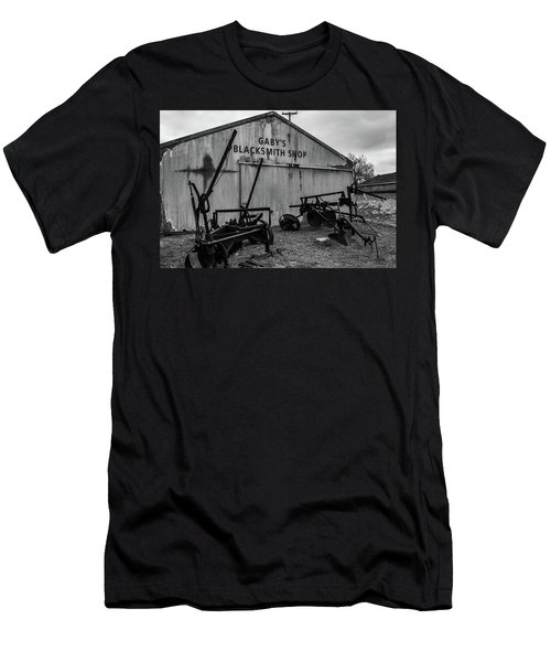 Old Frisco Blacksmith Shop Men's T-Shirt (Athletic Fit)