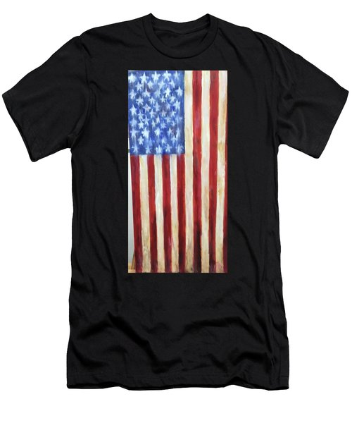 Old Glory Vii Men's T-Shirt (Athletic Fit)