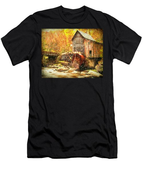 Old Grist Mill Men's T-Shirt (Athletic Fit)