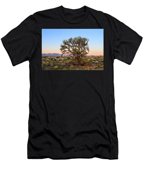 Old Growth Cholla Cactus View 2 Men's T-Shirt (Athletic Fit)