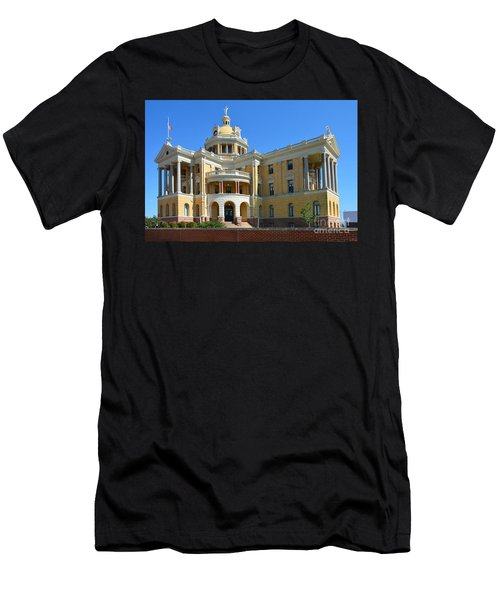 Old Harrison County Courthouse Men's T-Shirt (Athletic Fit)
