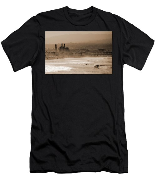 Old Hermosa Beach Men's T-Shirt (Athletic Fit)