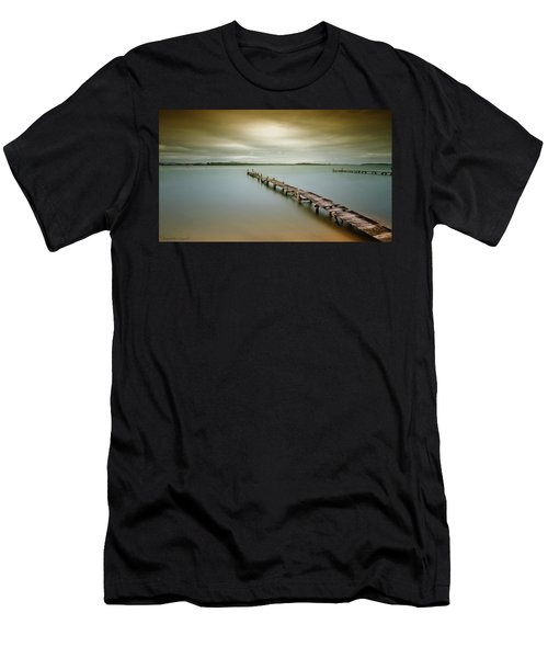 Old Jetty 0010 Men's T-Shirt (Slim Fit) by Kevin Chippindall
