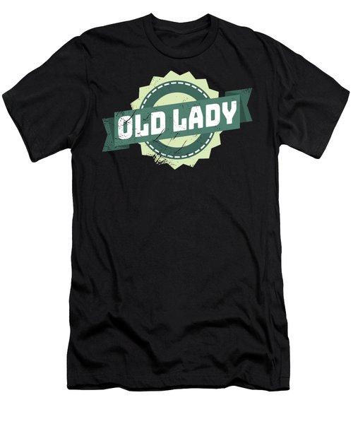 Old Lady Men's T-Shirt (Athletic Fit)