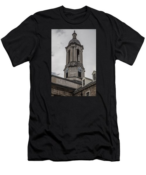 Old Main Penn State Clock  Men's T-Shirt (Athletic Fit)