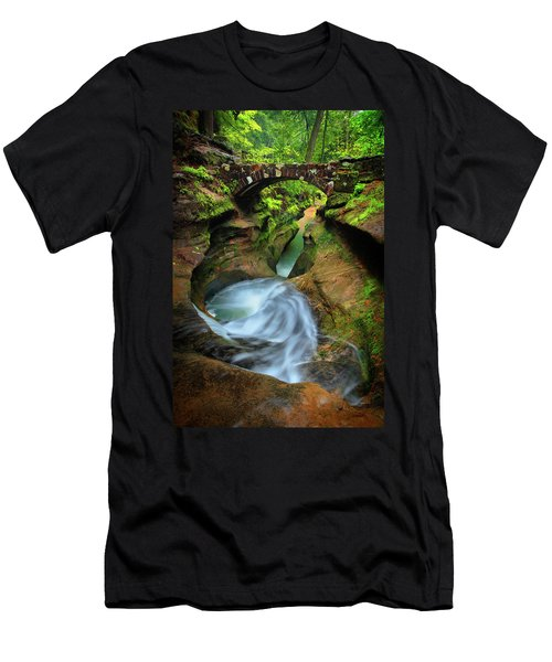 Devil's Bathtub Men's T-Shirt (Athletic Fit)