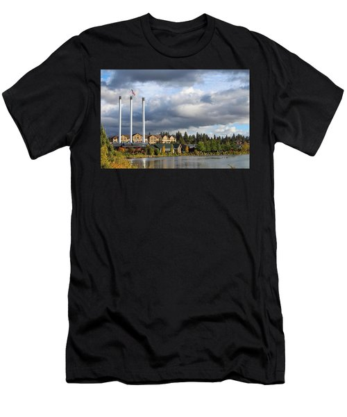 Old Mill District Men's T-Shirt (Athletic Fit)