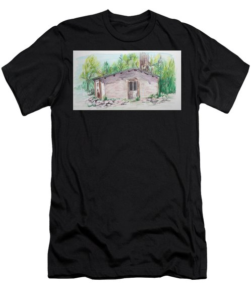 Old New Mexico House Men's T-Shirt (Athletic Fit)