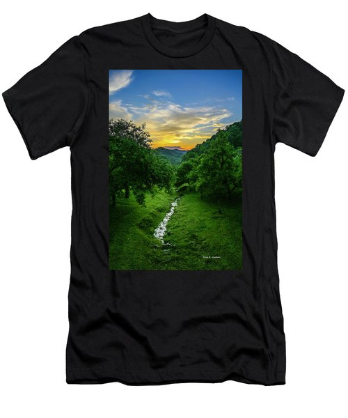 Old Orchard Glow Men's T-Shirt (Athletic Fit)