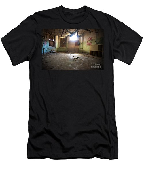 Men's T-Shirt (Slim Fit) featuring the photograph Old Paint Shop by Randall Cogle