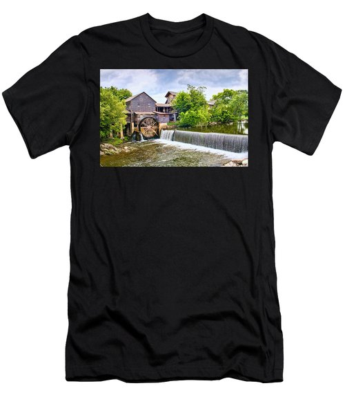 Old Pigeon Forge Mill Men's T-Shirt (Athletic Fit)