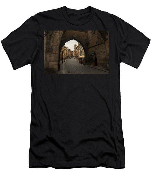 Old Prague Men's T-Shirt (Athletic Fit)