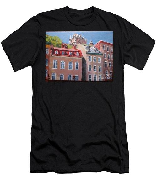 Old Quebec City Men's T-Shirt (Athletic Fit)