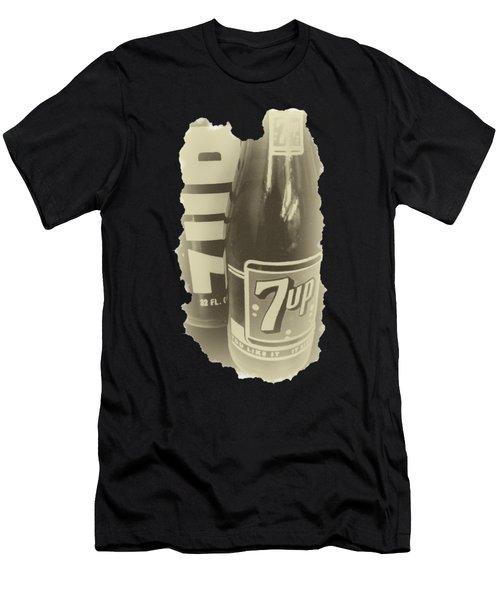 Old School 7up Men's T-Shirt (Athletic Fit)