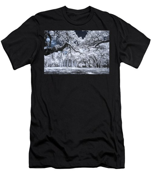 Old Sheldon Church In Infrared Men's T-Shirt (Athletic Fit)
