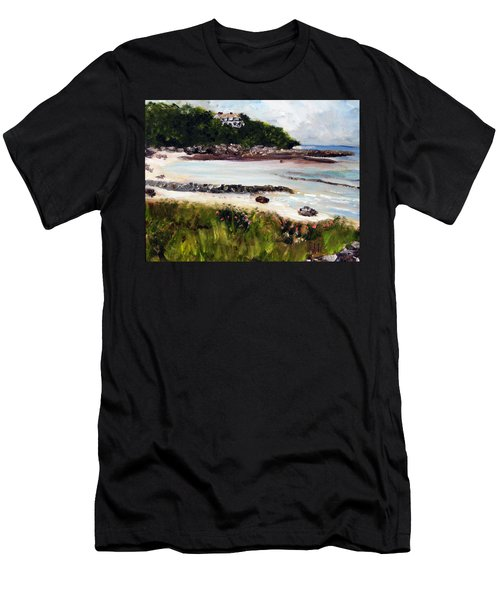 Old Silver Beach Falmouth Men's T-Shirt (Athletic Fit)