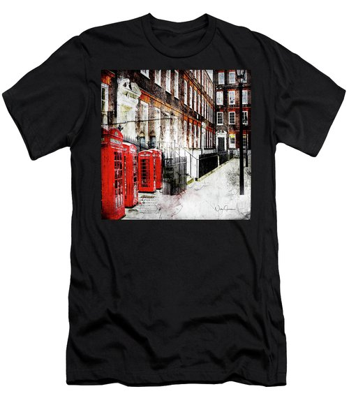 Old Square Men's T-Shirt (Athletic Fit)