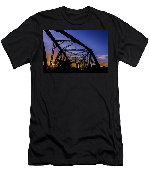 Old Steel Bridge Men's T-Shirt (Athletic Fit)