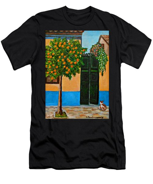 Old Times Neighborhood Men's T-Shirt (Athletic Fit)
