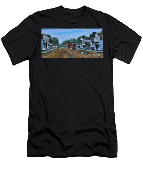 Old Town Breaux Bridge La Men's T-Shirt (Athletic Fit)