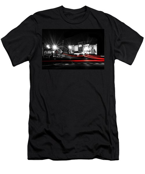 Old Town Helena At Night Men's T-Shirt (Slim Fit) by Shelby  Young