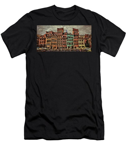 Old Town In Warsaw #15 Men's T-Shirt (Athletic Fit)
