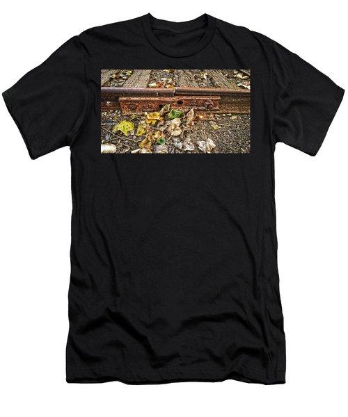 Old Tracks Men's T-Shirt (Athletic Fit)
