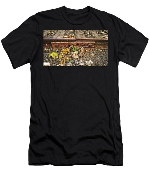 Old Tracks Men's T-Shirt (Athletic Fit)