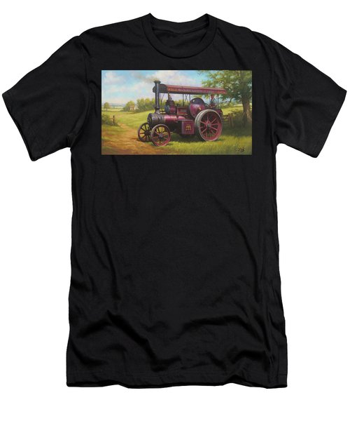 Old Traction Engine. Men's T-Shirt (Athletic Fit)