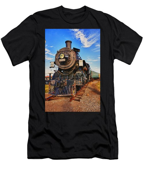 Old Train Men's T-Shirt (Athletic Fit)