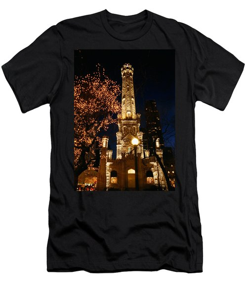 Old Water Tower, Intersection Men's T-Shirt (Athletic Fit)