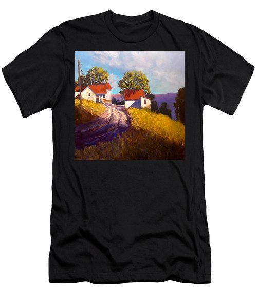 Old Willy's Barn Men's T-Shirt (Athletic Fit)
