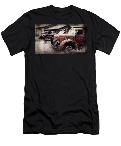Old Work Trucks Men's T-Shirt (Athletic Fit)