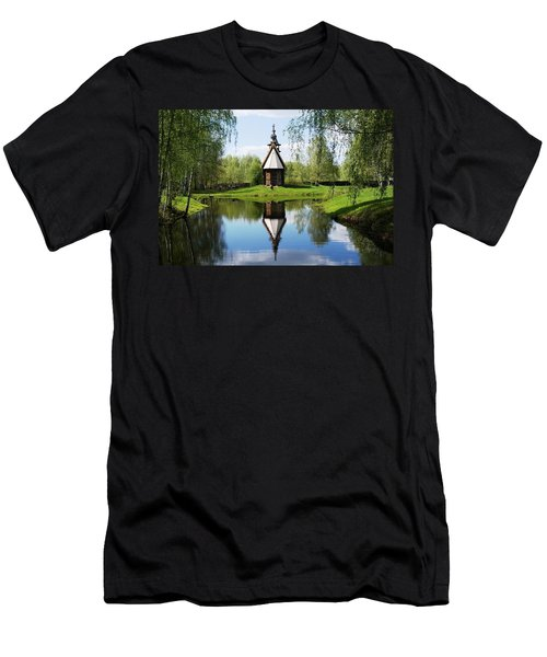 Old World Church Men's T-Shirt (Athletic Fit)