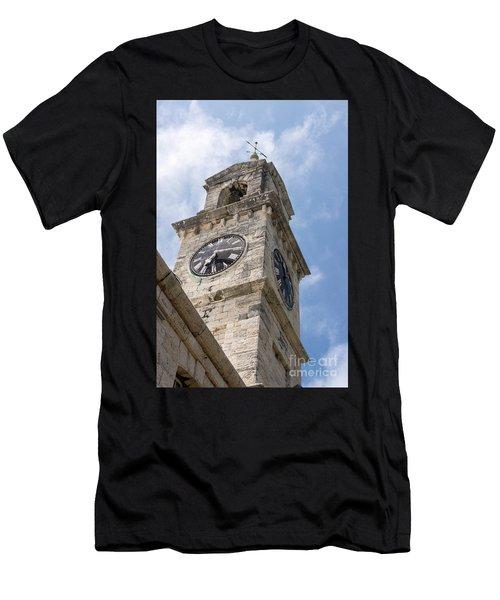 Olde Time Clock Men's T-Shirt (Athletic Fit)
