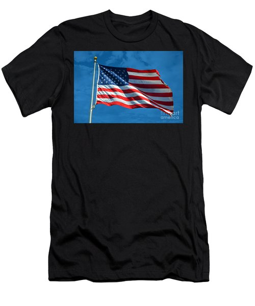Ole Glory Men's T-Shirt (Athletic Fit)