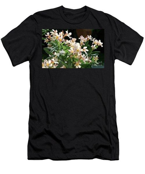 Oleander Petite Salmon 3 Men's T-Shirt (Athletic Fit)