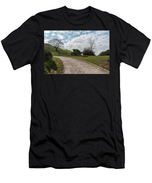 Olimpia Park. Munich Men's T-Shirt (Athletic Fit)