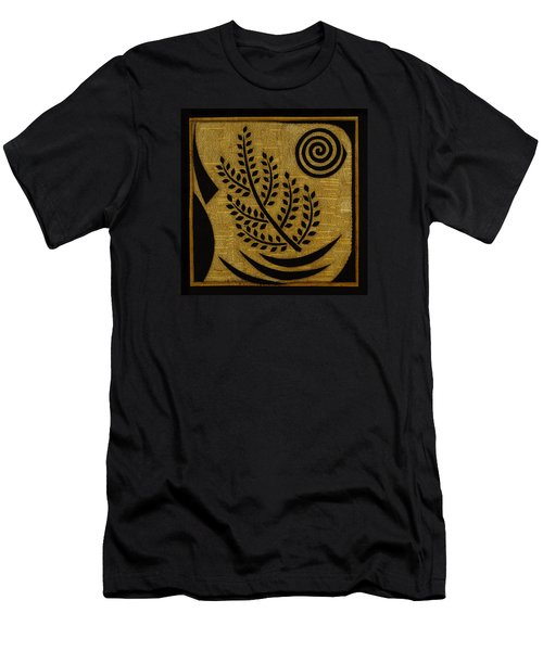 Men's T-Shirt (Slim Fit) featuring the mixed media Olive Branch by Gloria Rothrock