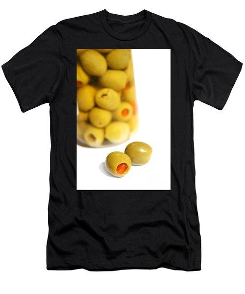 Olive Jar Men's T-Shirt (Athletic Fit)