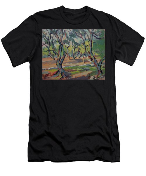 Olive Yard Paxos Greece Men's T-Shirt (Athletic Fit)
