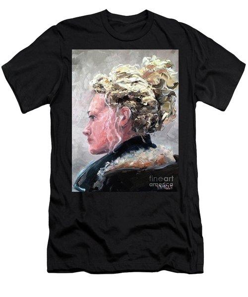 Olivia 2 Men's T-Shirt (Slim Fit) by Diane Daigle
