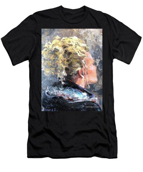 Olivia Men's T-Shirt (Slim Fit) by Diane Daigle