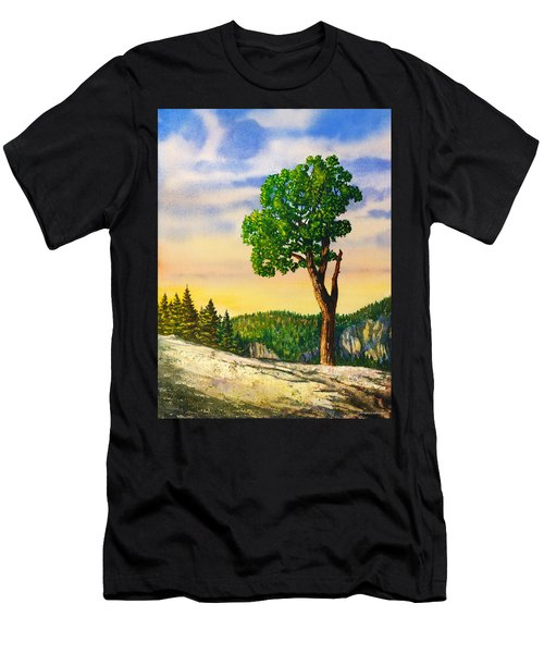 Olmsted Point Tree Men's T-Shirt (Athletic Fit)