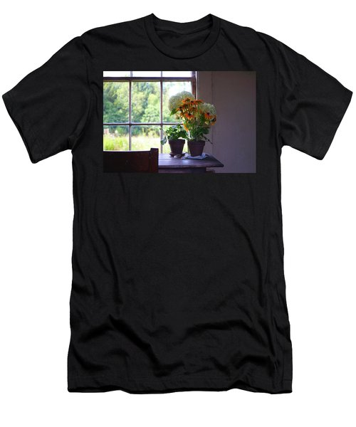 Olson House Flowers On Table Men's T-Shirt (Athletic Fit)