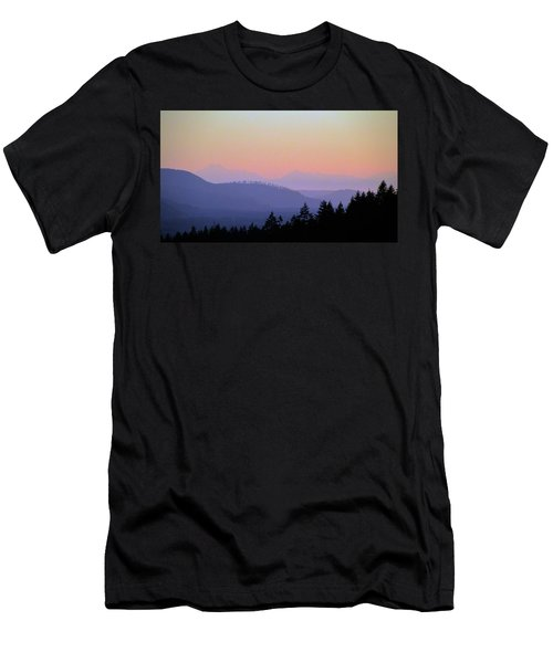 Olympic Silhouette Men's T-Shirt (Athletic Fit)
