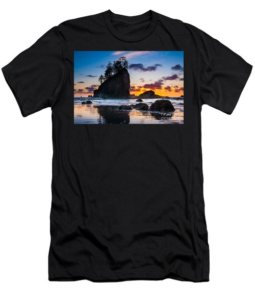Olympic Sunset Men's T-Shirt (Athletic Fit)