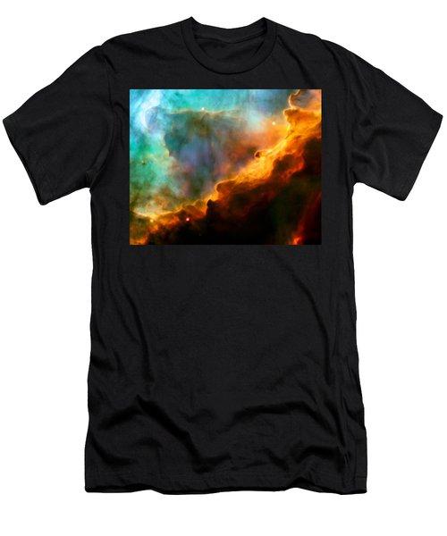 Omega Swan Nebula 3 Men's T-Shirt (Athletic Fit)