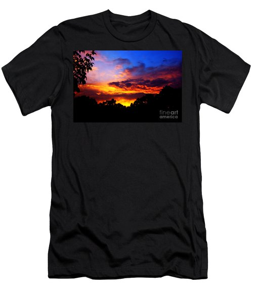 Ominous Sunset Men's T-Shirt (Athletic Fit)