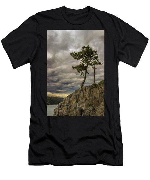Ominous Weather Men's T-Shirt (Athletic Fit)